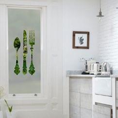 Kitchen Window Film