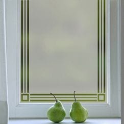 Window Film Border & Frames