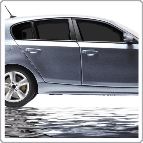Dark Charcoal Car Window Tint