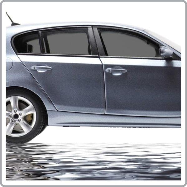 Medium Charcoal Car Window Tint