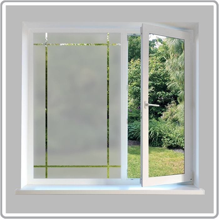 Etched Glass Effect Borders Frosted Glass Decorative Frames