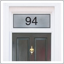 House Number Stickers