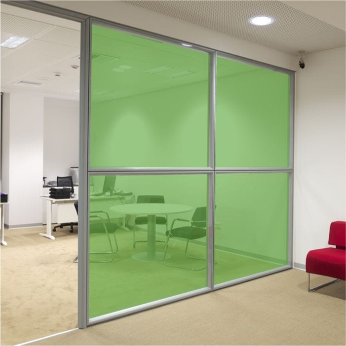 Grass Green Coloured Window Film Stained Glass Film