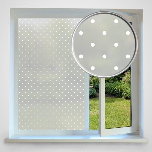 dots privacy window film