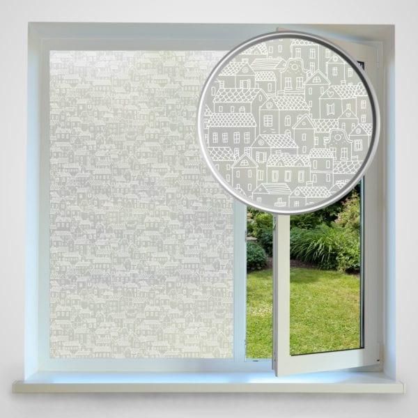 turin privacy window film